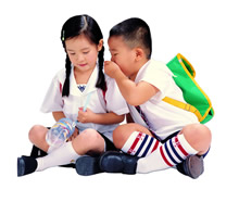 儿童表情高清晰素材图片