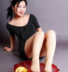 腿模丝袜美腿高清图片
