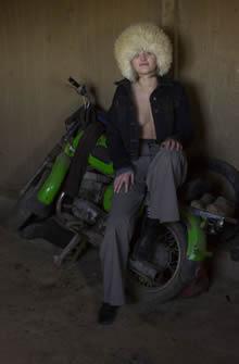 摩托车女郎