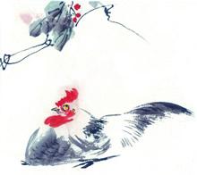 中国画生肖高清晰图片