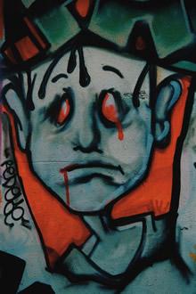 前卫触觉手绘艺术竖式壁纸