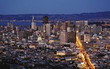 宽屏都市夜景壁纸