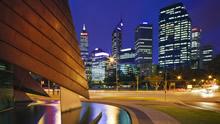 高清城市夜景壁纸图