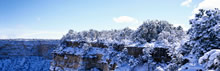 超宽雪景风光