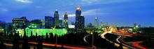 都市夜景全景图