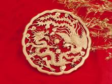 中国红高清壁纸图片
