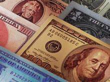 钞票钱币高清图库